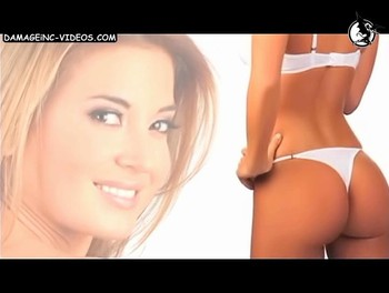Fitness girl Jesica Cirio ass in white thong